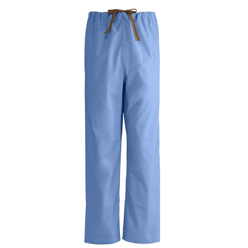 Unisex 100% Cotton Reversible Scrub Pants