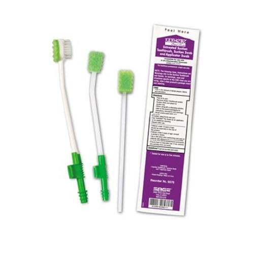 Suction Toothbrush Kit Sage NonSterile