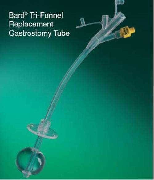 Triple Replacement Gastrostomy Tube Bard