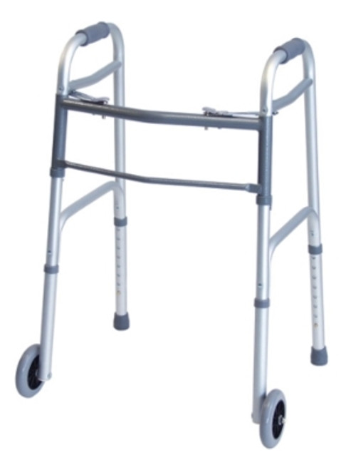 Everyday Dual Release Walker with Wheels