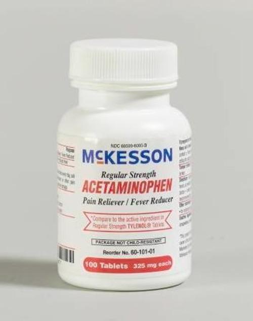 mckesson acetaminophen tablets