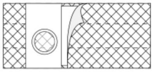 Hernia Belt Nu-Form 2X-Large, Adult 6 Inch