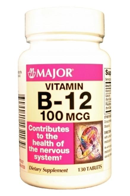Major Pharmaceuticals Major Vitamin B-12 Supplement