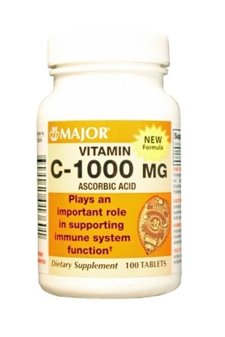 Major Pharmaceuticals Major Vitamin C Supplement