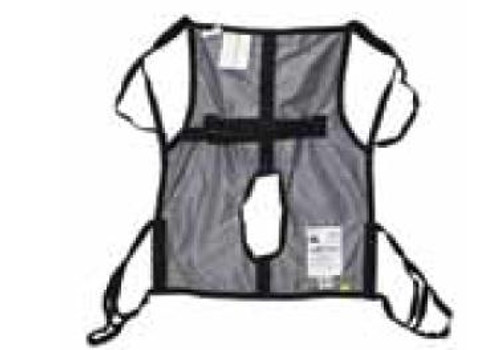Hoyer One Piece Commode Sling with Positioning Strap