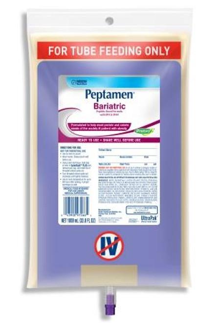 Tube Feeding Unflavored Bariatric, Peptamen - 1000 mL