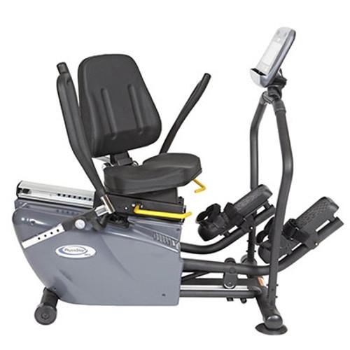 mdx recumbent elliptical cross trainer swivel seat