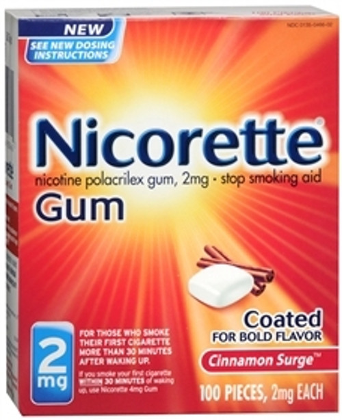 Glaxo Smith Kline Nicorette Stop Smoking Aid