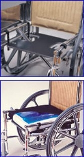 """Skil-Care J-Hook Drop Seat for 18"""" Wheelchair"""