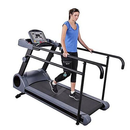 long handrail physiomill rehabilitation treadmill