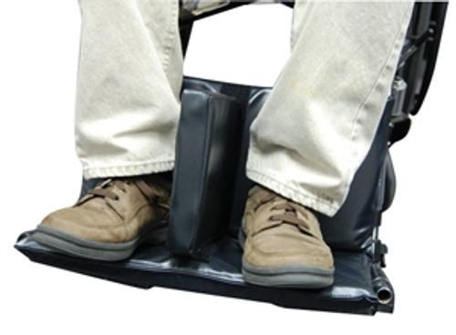 Wheelchair Footrest Extender w/Leg Separation