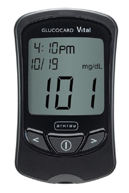 Arkray USA Glucocard Blood Glucose Meter Kit 1