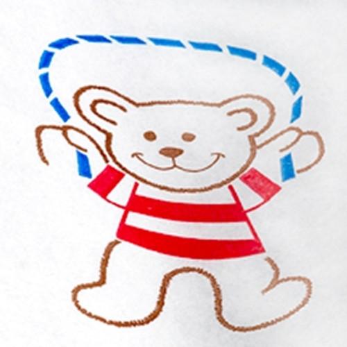 Patient Exam Gown Pediatric NonSterile Kid Design (Activity Bears Print)