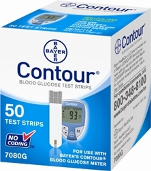 Ascensia Diabetes Care Contour Blood Glucose Test Strips