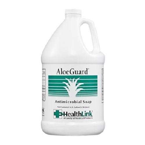 Antimicrobial Soap AloeGuard Liquid Jug Floral Scent