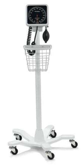 Mobile Aneroid Sphygmomanometer Pole w/ Basket