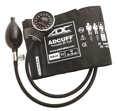 adc diagnostix pocket aneroid sphyg adult black