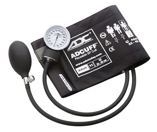 adc prosphyg pocket aneroid sphyg adult black