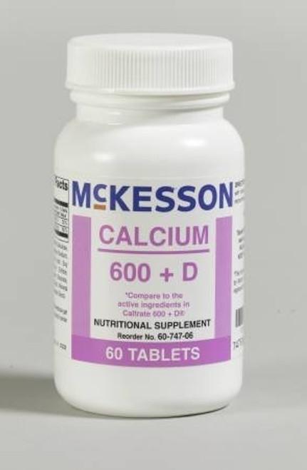 McKesson Calcium 600 + D Tablets