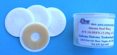 Stoma Seal Ring EZ-Clean Hydrocolloid Derivative