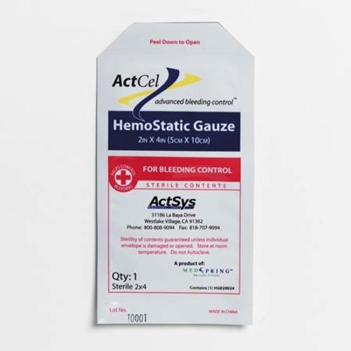 Moore Medical ActCel Hemostatic Gauze