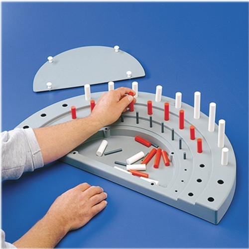 Semi-Circular Peg Board