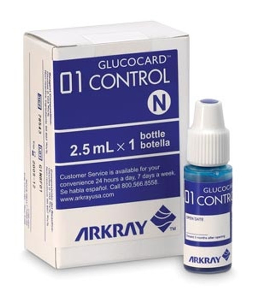 Arkray USA Glucocard 01 Meter Control Solution