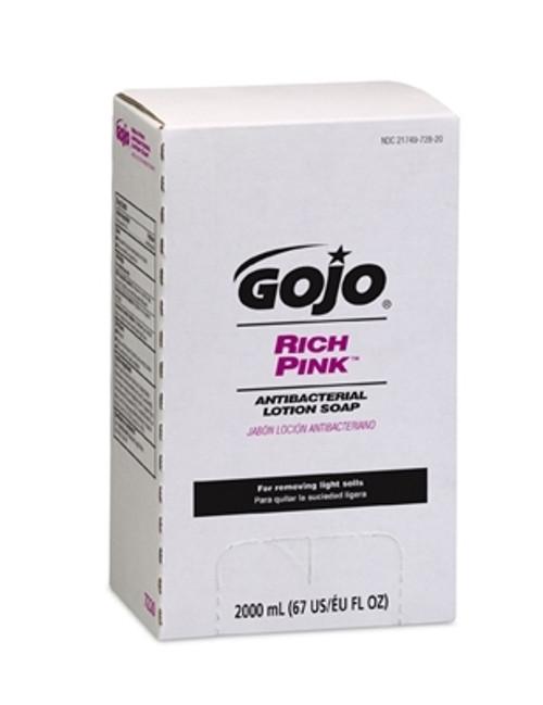 GOJO Pink Lotion Soap TDX Dispenser Refill