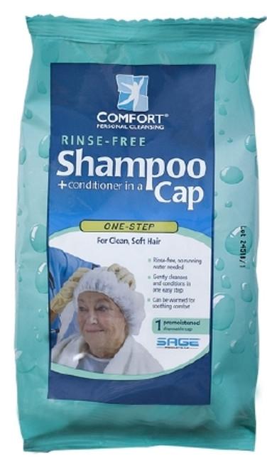Sage Products Comfort Bath Shampoo Cap