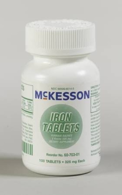 McKesson Iron Tablets