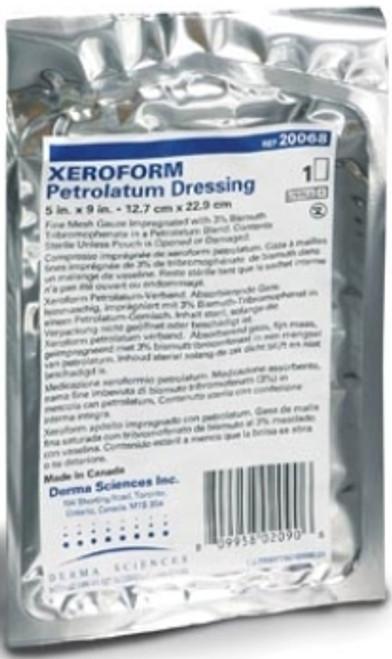 Derma Sciences Xeroform Petrolatum Impregnated Dressing 1