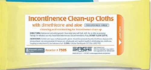 Sage Products Sage Incontinent Care Wipe