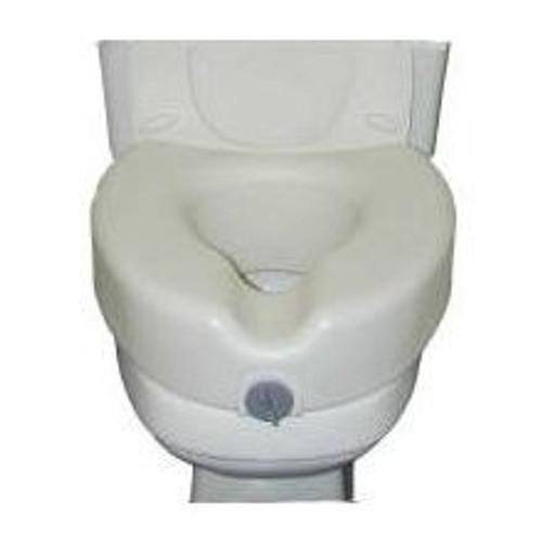 sunmark Locking Raised Toilet Seat without Armrests