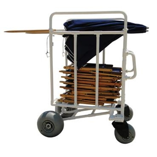 All Terrain Chair And Umbrella Cart