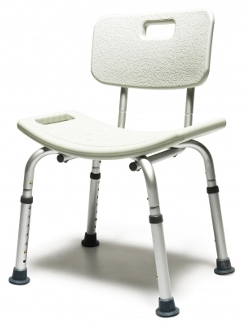 Platinum Collection Bath Seat with Backrest - Retail Packing