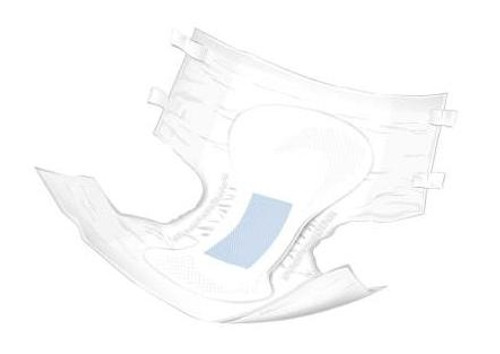 mckesson staydry breathable briefs - ultra