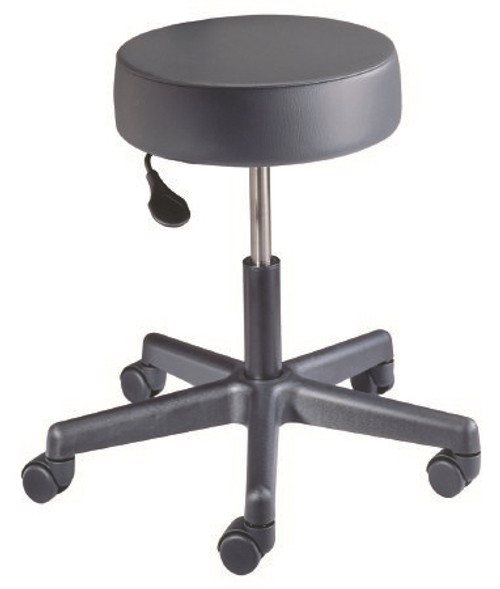 Exam Stool McKesson Backless Pneumatic Height Adjustment Casters Putty