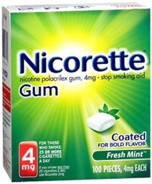 Glaxo Smith Kline Nicorette Stop Smoking Aid 1