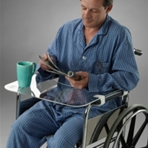 Posey Clear Wheelchair Laptop Tray