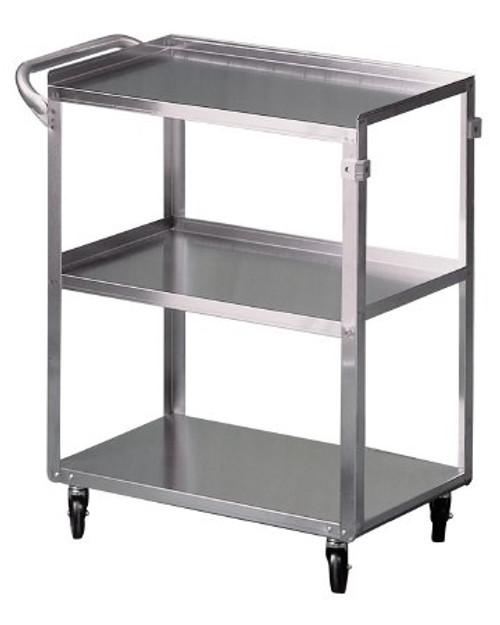 Utility Cart McKesson Stainless Steel Shelves Stainless Steel