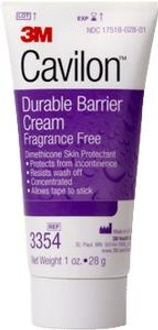 3M Cavilon Durable Barrier Cream ðð Fragrance Free