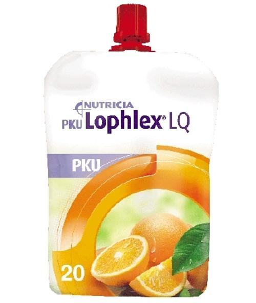 PKU Oral Supplement Lophlex LQ Juicy Pouch