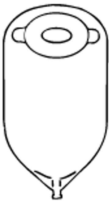 Nu-Flex Oval Adult-Size Pre-Cut Pouch