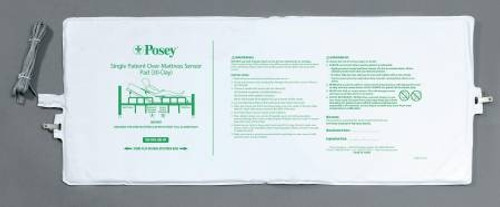 """Fall Management Bed Sensor Pad 13""""x 32.5"""" - Pad Only Posey"""