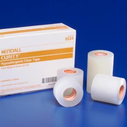 Medical Tape Curity Plastic Transparent NonSterile