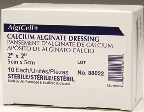 Derma Sciences Algicell Calcium Alginate Dressing 1