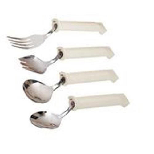 Fork Swivel White Stainless Steel