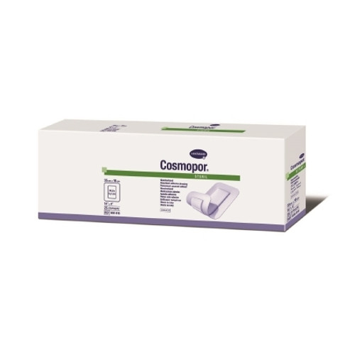 Adhesive Dressing Cosmopor NonWoven Rectangle White Sterile