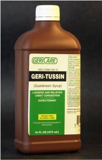 Geri-Tussin Guaifenesin Syrup