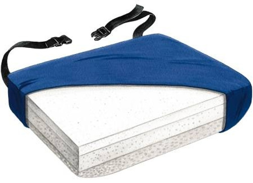 Seat Cushion with Low-Shear Cover, Gel / Foam
